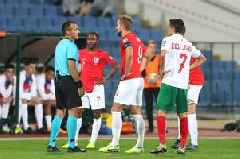 Bulgaria v England stopped twice as officials deal with racist abuse in stadium