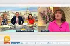Lorraine Kelly's incredible defence of Piers Morgan in GMB transgender row