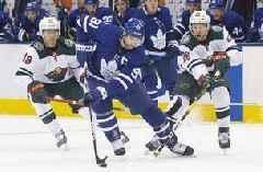 Maple Leafs overcome slow start, beat Wild 4-2