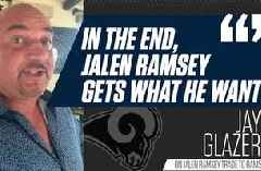 NFL on FOX Insider Jay Glazer details the Jalen Ramsey trade to the LA Rams