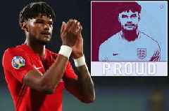 Aston Villa fans club together for special banner for England hero Tyrone Mings