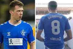 Rangers fans in stitches at Steven Gerrard's No.8 shirt 'warning' to Ryan Jack