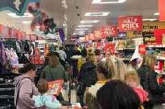 Sainsbury's chaos as £50 Dyson offer sparks huge queues and gridlocked aisles
