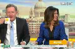 You can't get rid of me Piers Morgan claims GMB poll has helped him to get a pay rise