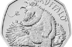 New Gruffalo 50p coins launched by Royal Mint - see the full collection