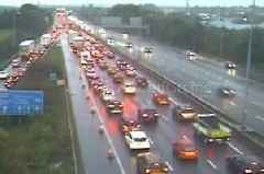 Crash at M5 in Exeter causes severe delays - live updates