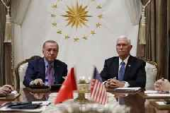 Turkey agrees to Syria ceasefire, VP Mike Pence says