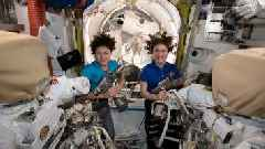Watch: First All-Female Spacewalk Is Underway at International Space Station