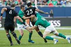 Johnny Sexton claims 'over the edge' brutality of the All Blacks is the real reason for rugby's clampdown on dangerous tackles