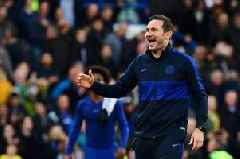 Frank Lampard delighted as Chelsea being in top four proves work is paying off