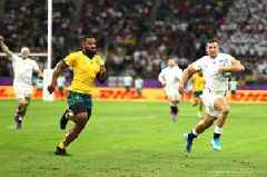 England v Australia Live: Score updates as two Jonny May tries put England ahead in Rugby World Cup quarter-final