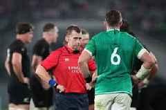 Make Nigel Owens Speaker of the House! Fans rave about Welsh ref for his handling of New Zealand v Ireland