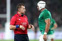 Nigel Owens' touching six-word tribute to Ireland's Rory Best during Rugby World Cup game as captain played for the last time