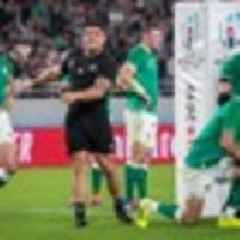 2019 Rugby World Cup: World and Irish media react to Ireland's quarter-final loss to the All Blacks