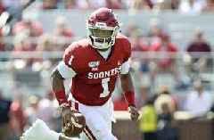 Jalen Hurts marches Oklahoma down the field as Sooners take early lead vs. West Virginia