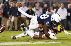 Down 21-0, Michigan makes a game of it but falls to Penn State 28-21