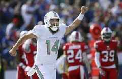 Fitzpatrick provides spark in Dolphins' 31-21 loss to Bills