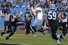 Titans struggled to get Henry involved early, fall to 4-5