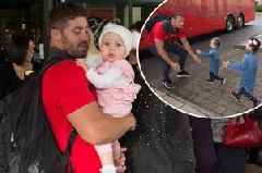 Wales' Rugby World Cup players just arrived home and had the most beautiful welcome from their kids