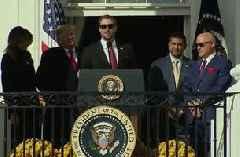 Washington Nationals reflect on World Series title during White House visit