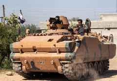 Turkey, Russia hold 2nd joint north Syria patrol, near Kobani