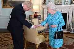 Boris Johnson reveals private conversations with Queen in huge breaking of protocol