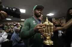 This is for you, South Africa: Springboks start trophy tour