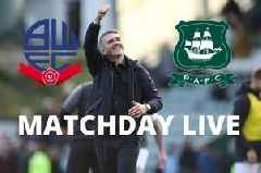 Bolton vs Plymouth Argyle Live: Ryan Lowe's Pilgrims are in FA Cup first round action