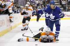 Sean Couturier lifts Flyers past Maple Leafs in shootout