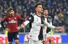 Dybala scores as Juventus beats Milan 1-0 to move back top