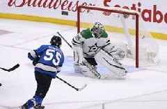 Mark Scheifele scores in OT, Jets beat Stars 3-2