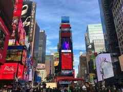 China Time-honored Brands promotion video is broadcast at New York Times Square