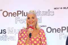 Katy Perry arrives with a roar for her first music festival in Mumbai