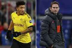 Jadon Sancho hails Chelsea boss Frank Lampard as 'inspiration' amid transfer speculation