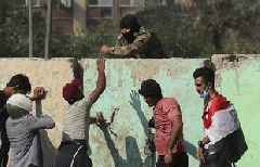 Iraq officials: 4 protesters killed in Baghdad clashes