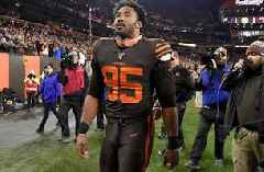 Nick Wright: Myles Garrett won't play again for the Browns until next year