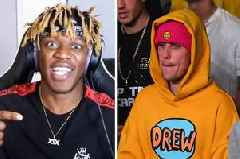 KSI dubs Justin Bieber 'delusional as f***' for ring message in Logan Paul win