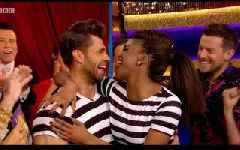 Strictly's Kelvin Fletcher's incredible surprise for Oti leaves her in tears
