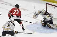 Kane, Dach lead Blackhawks past Sabres 4-1