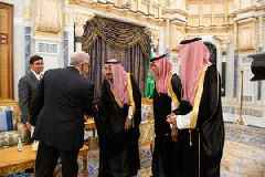 Saudi king touts reforms, Aramco IPO in annual address