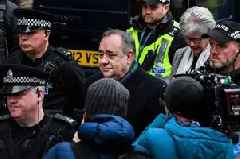 Alex Salmond 'tried to rape woman' in official residence - full details of charges released as former Scottish first minister appears in court