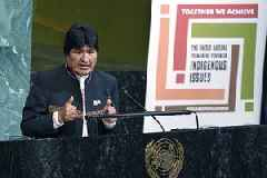 Bolivia to file ICC complaint against Morales