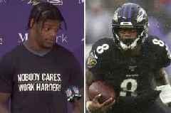 Lamar Jackson sends fierce warning to NFL rivals after score in Ravens win