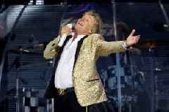Rod Stewart would love a movie made of his life and his sons to play his early days