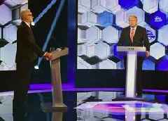 Johnson and Corbyn clash on Brexit in TV head-to-head election debate