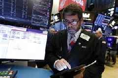 Wall Street climbs on solid jobs data, trade hopes