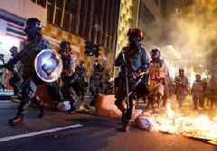 Hong Kong police chief calls for peaceful, orderly protest march