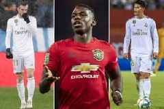 Real Madrid eye Paul Pogba swap deal with Los Blancos pair set for Man Utd switch