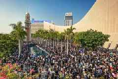 Hong Kongers mark half-year protest anniv with rally