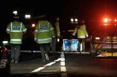 A30 blocked following five-car crash - live updates